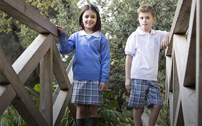 Uniformes escolares. Hijas de la caridad.