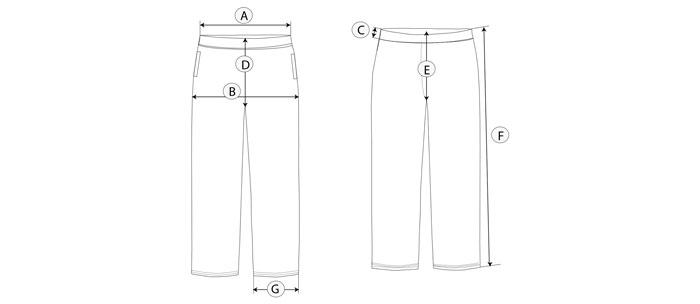 pantalon chandal guia de talla