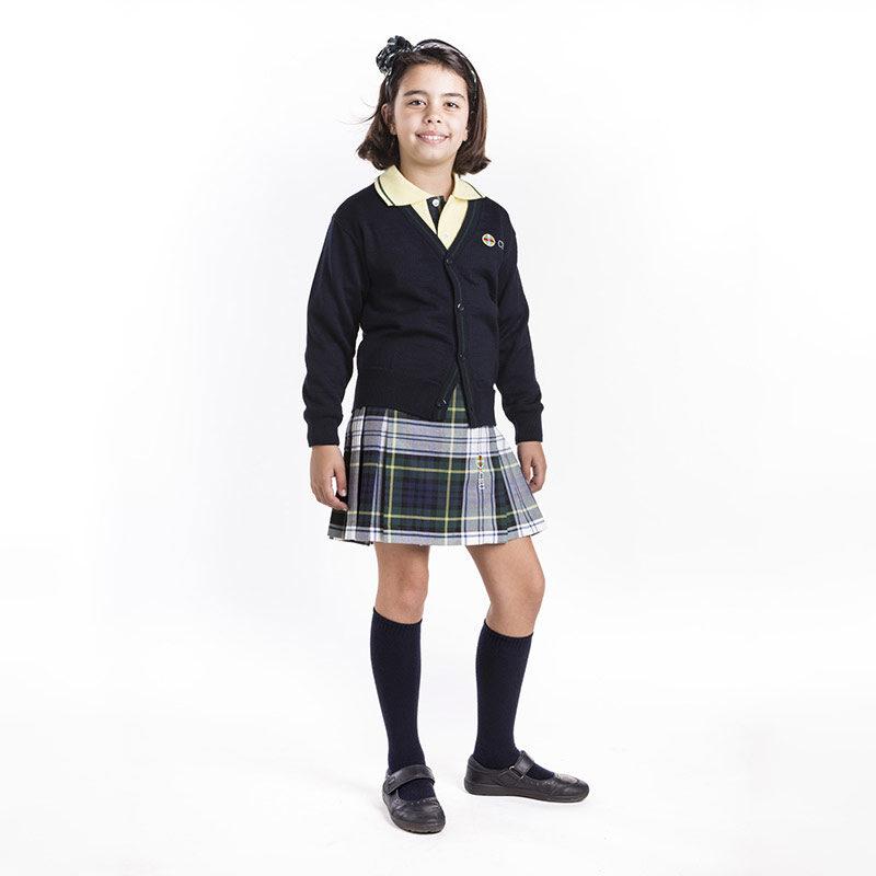 Chaqueta de vestir punto liso. Colegio CEU