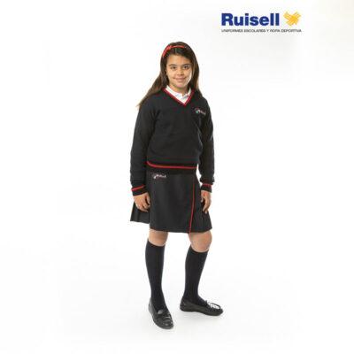 Suéter de pico. Colegios ACI