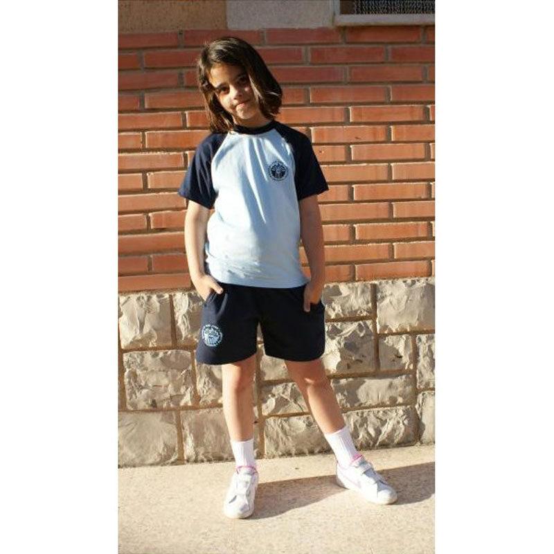 Camiseta de manga corta. Escuelas San José. Ruisell. Ropa Deportiva