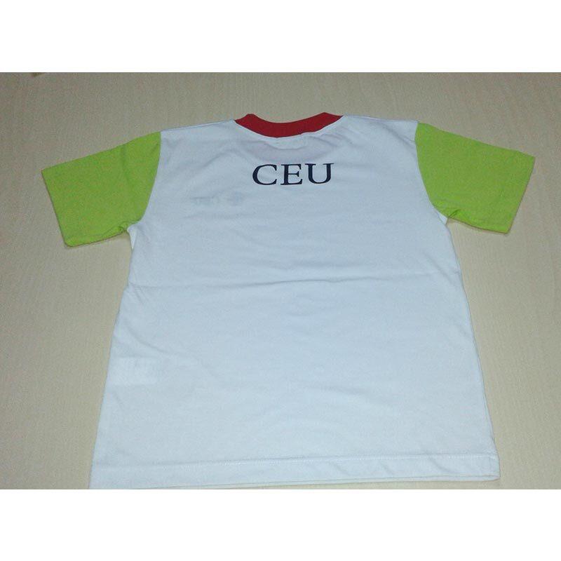Camiseta de manga corta. Colegio CEU