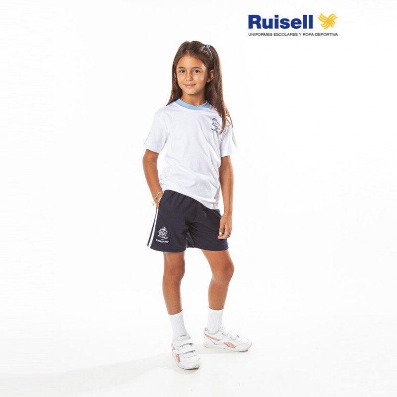 Camiseta de manga corta. Hijas de Cristo Rey. Ropa Deportiva
