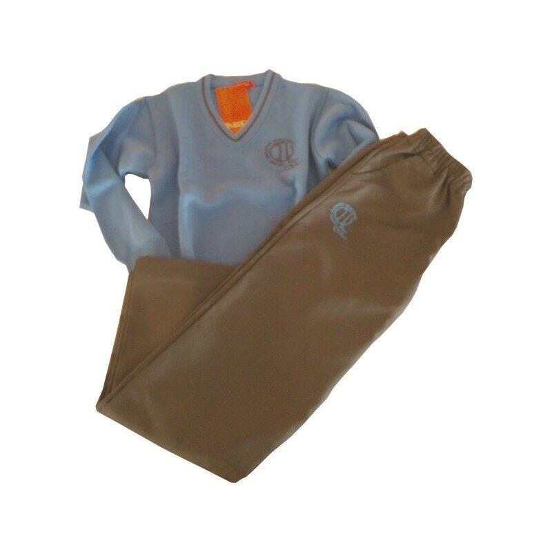 Pantalón largo gris. Hijas de la Caridad. Ruisell Uniformes Escolares