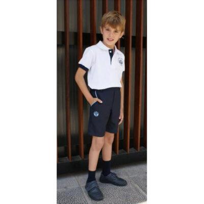 Pantalón de vestir corto. Escuelas San José. Ruisell Uniformes Escolares