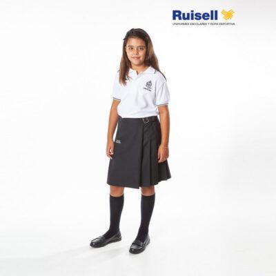 Falda plisada. Hijas de Cristo Rey. Ruisell. Uniformes Escolares