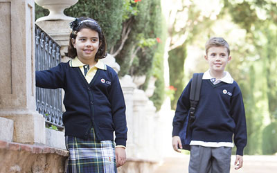 Uniformes escolares CEU. Ruisell. Altura (Castellón).